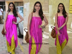 Aditi Rao Hydari in Payal Khandwala for Daasdev Promotions