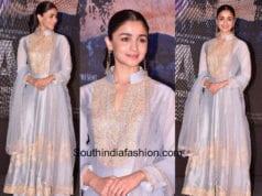 Alia Bhatt in Manish Malhotra for Raazi song launch 1