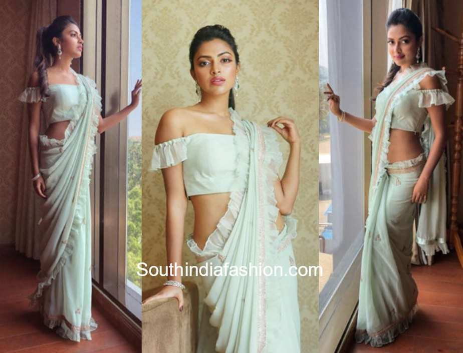 Amala Paul in Ayushi Bhasin at Jos Alukkas Store Launch in Salem
