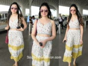 Divya Khosla Kumar in The Little Things Studio at the airport