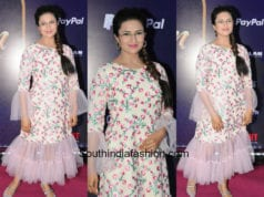 Divyanka Tripathi in Red By Purva for Alladin screening