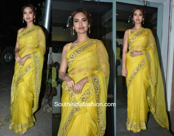bold saree colours summer