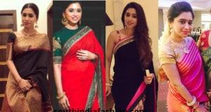Aarti Ravi Saree Looks