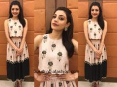 Kajal Aggarwal in Payal Singhal for a College Event