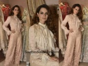 Kangana Ranaut in House Of Neeta Lulla at the designers store launch