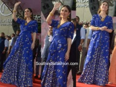 Kareena Kapoor in House Of Masaba at Malabar Gold and Diamonds Store Launch in Delhi
