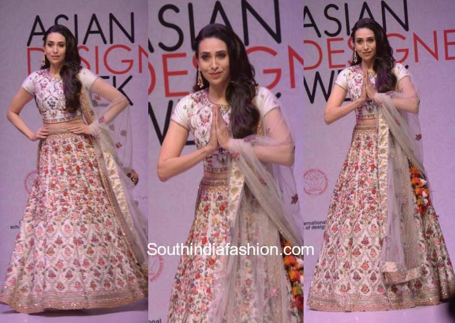Karishma Kapoor walks the ramp for Perrie Fashions 1