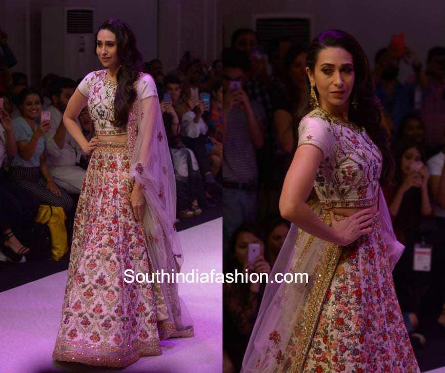 Karishma Kapoor walks the ramp for Perrie Fashions