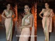 Kriti Kharbanda in Vikram Phadnis for Wedding Times Show