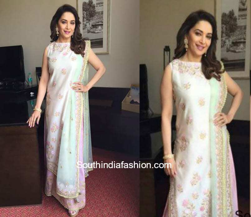 Madhuri Dixit in a palazzo suit 1