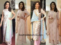 Madhuri Dixit in a palazzo suit Featured