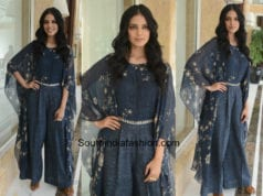 Malavika Mohanan in Tarun Tahiliani for Beyond The Clouds Promotions