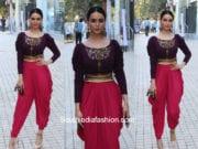 Saundarya Sharma's ethnic look