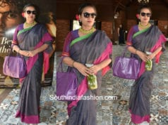 Shabana Azmi in a saree for Beyond The Clouds Special ScreeningShabana Azmi in a saree for Beyond The Clouds Special Screening