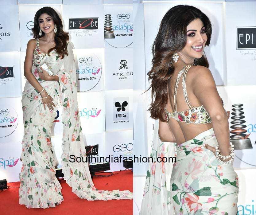 Shilpa Shetty in Arpita Mehta at Asia Spa Awards 2018