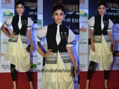 Shilpa Shetty in Shantanu and Nikhil for Dada Saheb Phalke Awards 2018