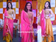 Shraddha Kapoor in Arpita Mehta at Veet Nikhaar Launch
