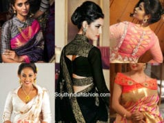 Silk Saree Pattern Blouses