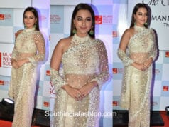 Sonakshi Sinha in Manish Malhotra at The Walk Of Mijwan Show 2018