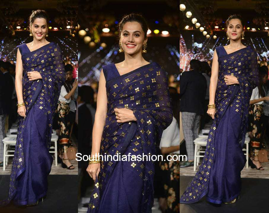 Taapsee Pannu in Priyal Prakash House Of Design at Forever Mark Event