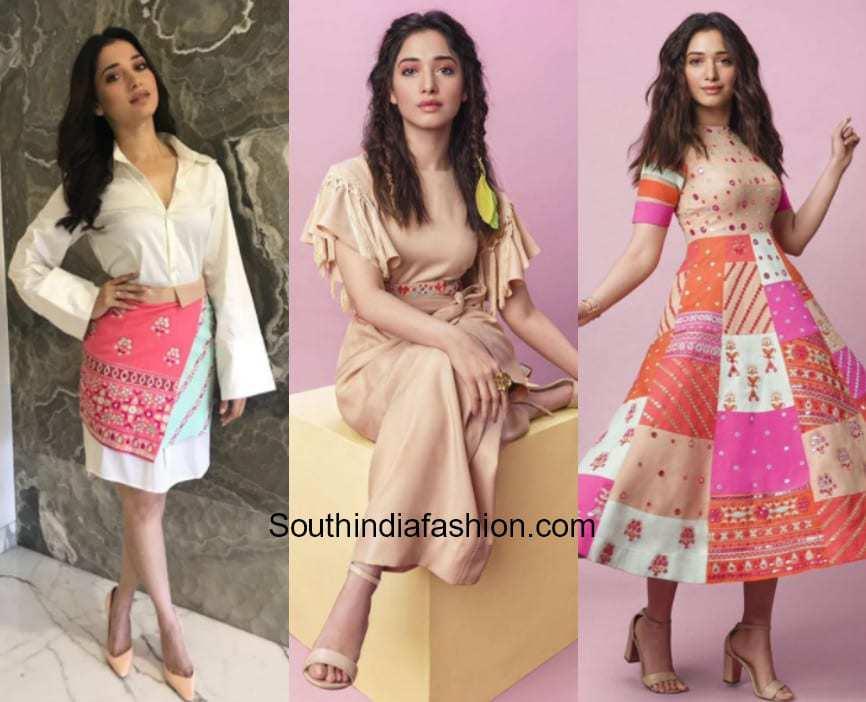 Tamanna Bhatia in Aza Fashions & Nishka Lulla Featured