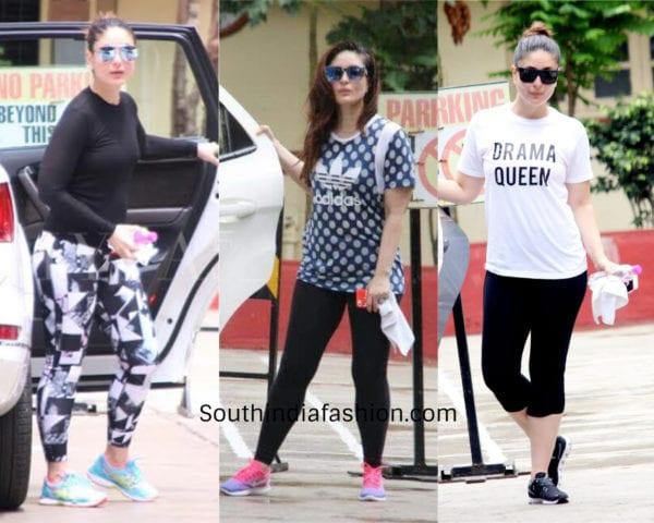 kareena kapoor gym clothes