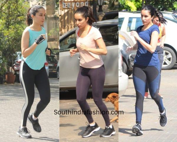 shraddha kapoor gym workout clothes