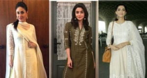 bollywood actresses in palazzo suits