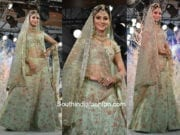 Urvashi Rautela in Vikram Phadnis for Weding Times Show