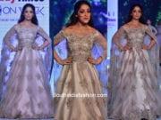 Yami Gautam in Kalki Fashion at Bombay Times Fashion Week 2018