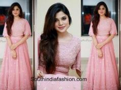 aathmika long skirt crop top v4 awards