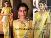 anisha ambrose banarasi saree rajyalakshmi heritage