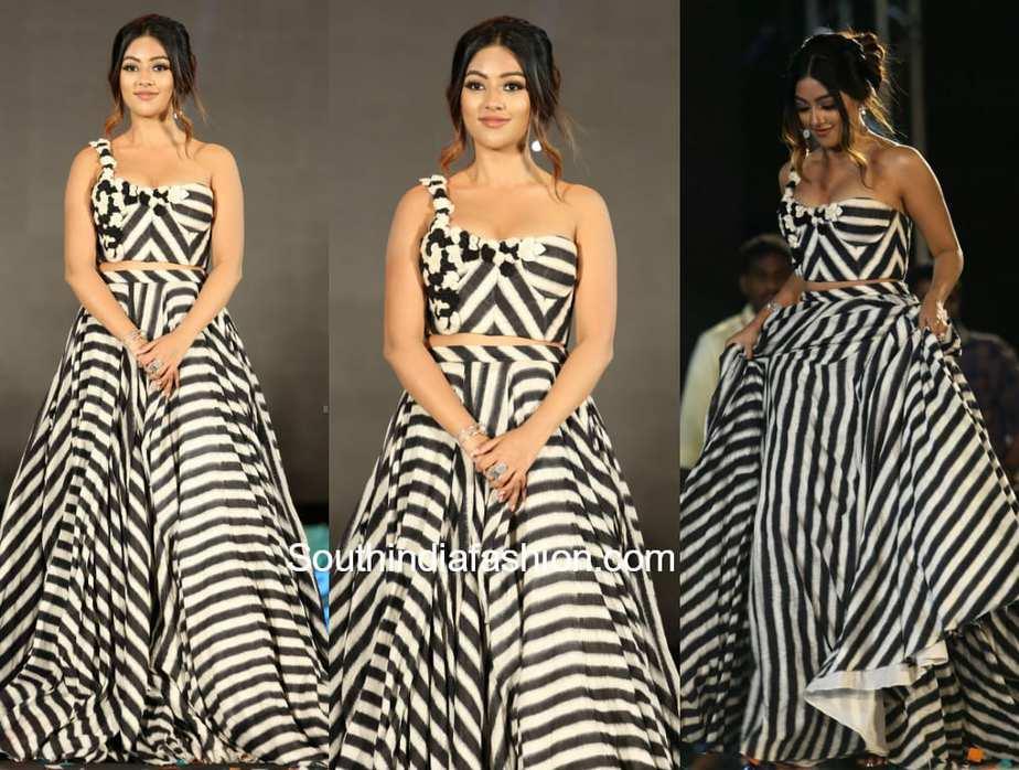 anu emmanuel at Naa Peru Surya Naa Illu India Movie Pre Release Event