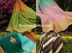banaras georgette sarees online