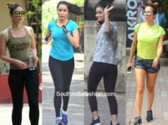 bollywood celebs gym workout outfits