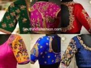 bridal blouses by Ranipink studio bangaloire