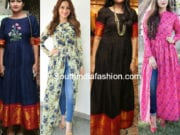 convert old sarees to kurtis
