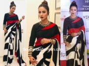 hina khan satya paul saree dada saheb phalke awards 2018