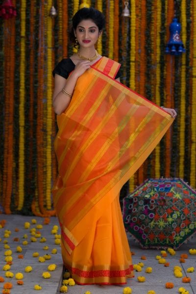 5 sarees for summer