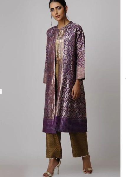 indian ethnic long jacket women