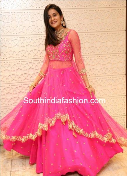 jenney honey pink dress ashwini reddy