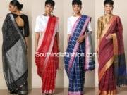 linen sarees online