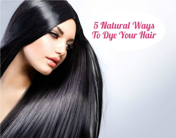natural ways to dye hair