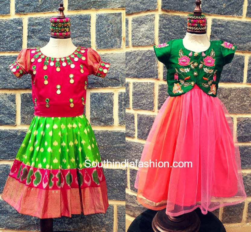 Kids Ethnic Wear By Sitarini South India Fashion