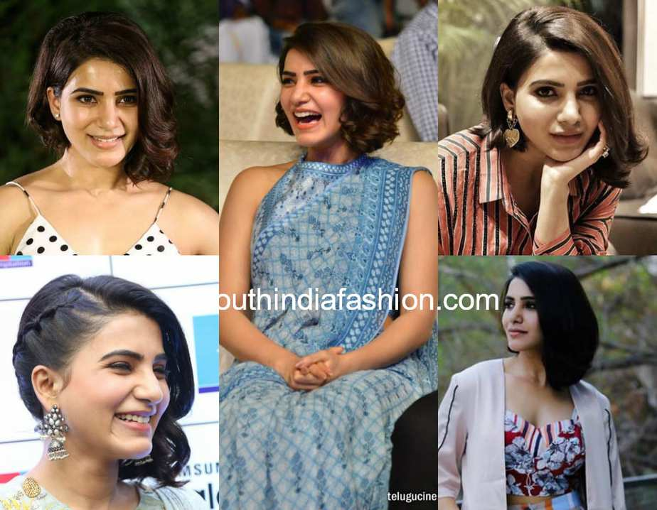 Short Hairstyle 2018 South India Fashion