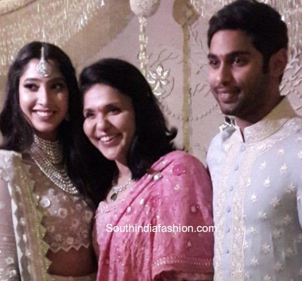 shriya bhupal anindith reddy engagement