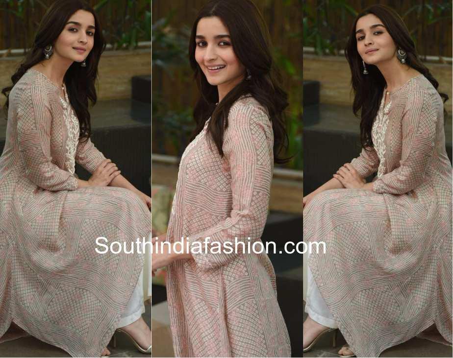 Alia Bhatt for Raazi Promotions