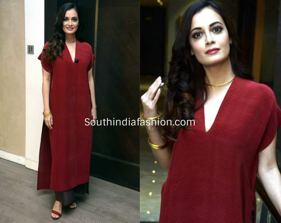 Dia Mirza at the launch of coffee-table book