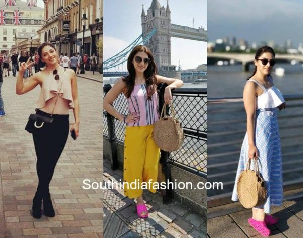 mehreen pirzadaa london vacation
