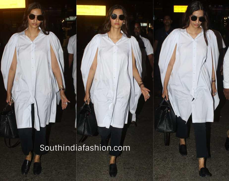 Sonam Kapoor at airport